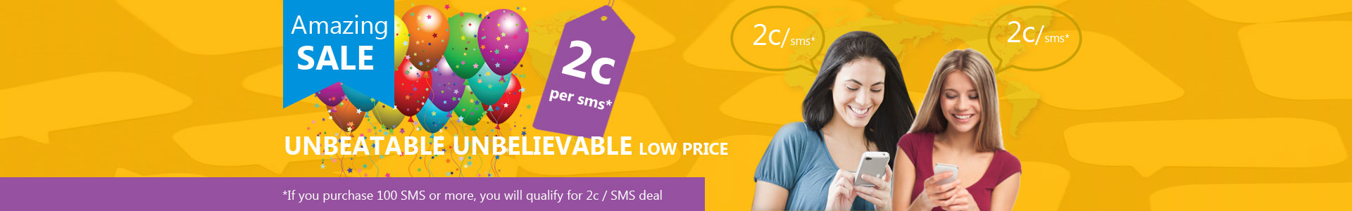 amazing web sms deal